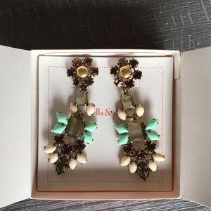 Stella & Dot Melanie Chandelier Earrings